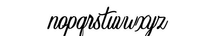 Crawley Font LOWERCASE