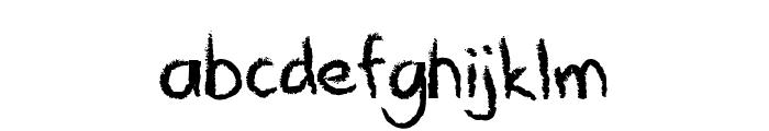 Crayawn Font LOWERCASE