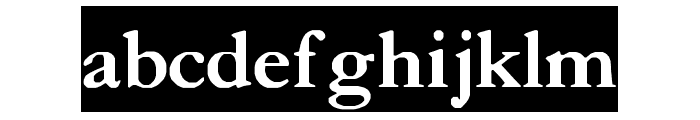 Crayomonde Font LOWERCASE