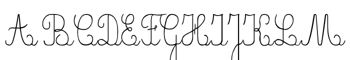 CrayonE Font UPPERCASE