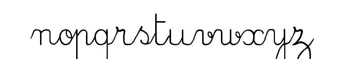 CrayonE Font LOWERCASE