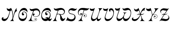 Crayonnette Font UPPERCASE