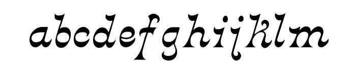 Crayonnette Font LOWERCASE