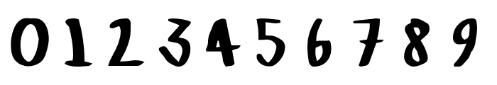 Crazed-Lefty Font OTHER CHARS