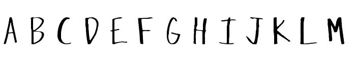 Crazed-Lefty Font UPPERCASE