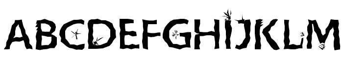 CrazyCrazySans Font UPPERCASE