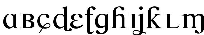 CrazyCrazy Font LOWERCASE