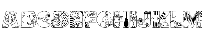 CrazyZoo Font LOWERCASE