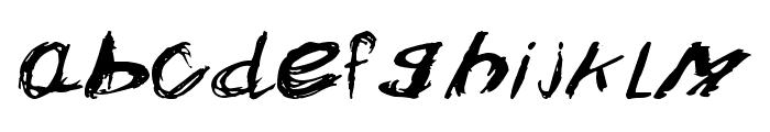 Crazysk8 Font LOWERCASE