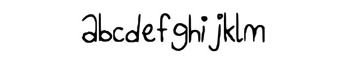 CreamDonut Font LOWERCASE