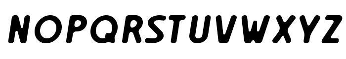 Creambold Font UPPERCASE