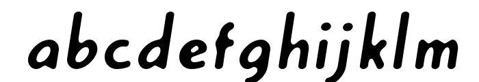 Creambold Font LOWERCASE
