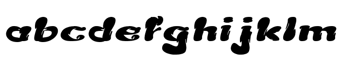 Creamy Butter Italic Font LOWERCASE