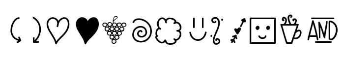 CreateDoodles Font UPPERCASE