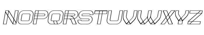 Created Italic Font LOWERCASE