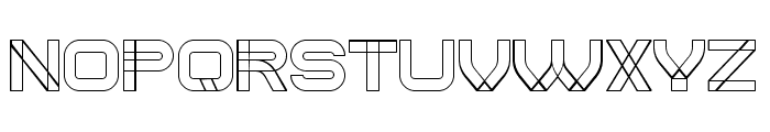 Created Regular Font UPPERCASE