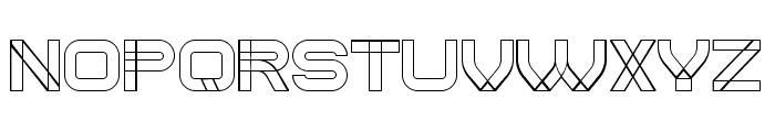 Created Regular Font LOWERCASE