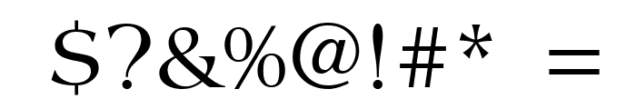 Creation Italic Font OTHER CHARS