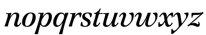 Creation Italic Font LOWERCASE