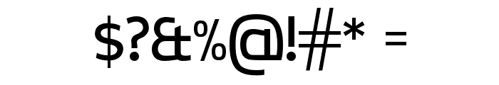 CreativZoo Regular Font OTHER CHARS