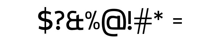 CreativZoo Serif Regular Font OTHER CHARS