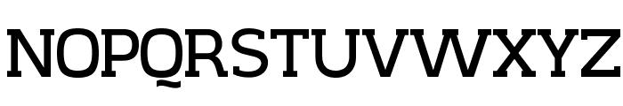 CreativZoo Serif Regular Font UPPERCASE