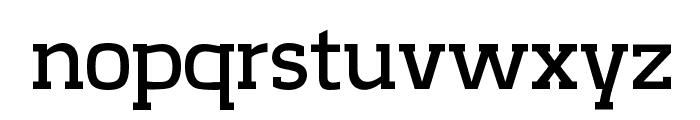 CreativZoo Serif Regular Font LOWERCASE