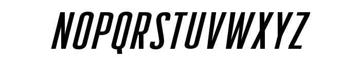 CreatorCreditsBB-Italic Font UPPERCASE