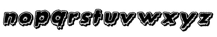 Creature Feature Font LOWERCASE