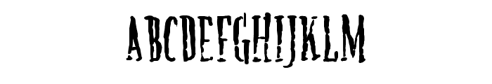 Creature Font UPPERCASE