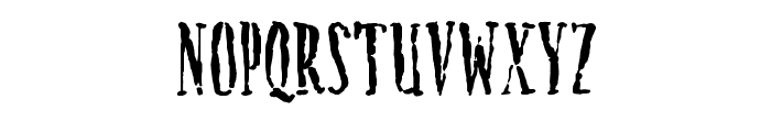 Creature Font LOWERCASE