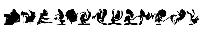 CreaturesShadows Font UPPERCASE