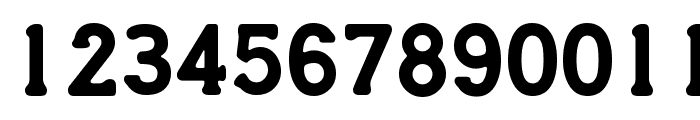 Credit Card Font LOWERCASE