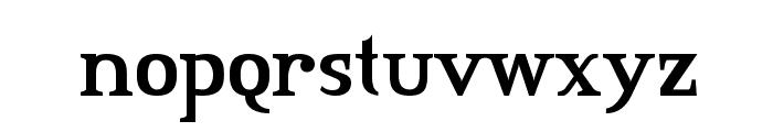 Credit River Font LOWERCASE