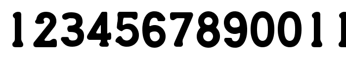CreditCard Font LOWERCASE