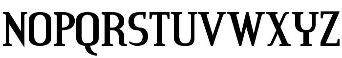 CreditRiver-Regular Font UPPERCASE