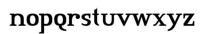 CreditRiver-Regular Font LOWERCASE