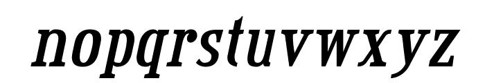 CreditValley-BoldItalic Font LOWERCASE