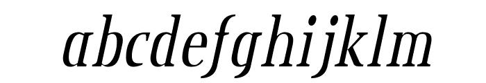 CreditValley-Italic Font LOWERCASE