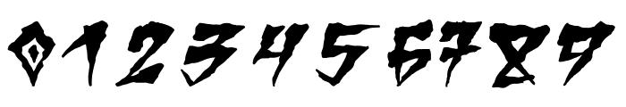 Creep Regular Font OTHER CHARS
