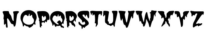 Creeper Font LOWERCASE