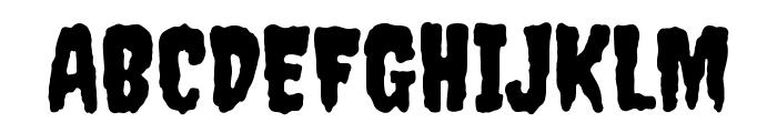 Creepster Caps Regular Font UPPERCASE