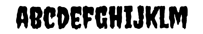 Creepster Font LOWERCASE