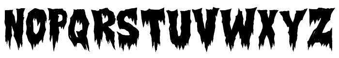 Creepsville Font UPPERCASE