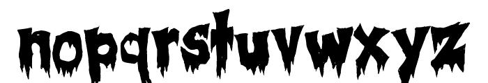 Creepsville Font LOWERCASE