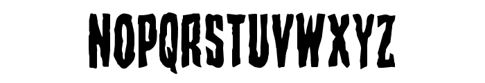 Creepy Crawlers Staggered Font UPPERCASE
