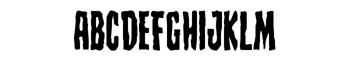 Creepy Crawlers Staggered Font LOWERCASE