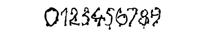 Creepy Font OTHER CHARS