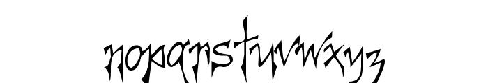 Creepygirl Font LOWERCASE