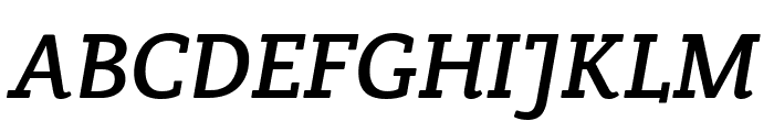 Crete Round Italic Font UPPERCASE